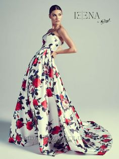 White Printed Ballgown  30275 Prom Dresses Atlanta 7122c6bf2688