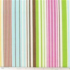 Enchanted Forest Stripe Fabric - Craft Room Color inspiration?