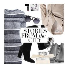 Stories from the city. Part 1 by tori-su on Polyvore featuring polyvore fashion style Sans Souci Alexander Wang Lancaster Bobbi Brown Cosmetics Witchery Chloé clothing