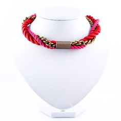Shop Chained Classic from Apreciouz in Necklaces, available on Tictail from Rope Necklace, Necklaces, Ss16, Statement Jewelry, Chain, Classic, Gold, Jewellery, Fashion