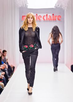 Marie Claire Fashion Days | Romani Design Fashion Days, Marie Claire, Identity, Freedom, Pants, Collection, Design, Rome, Liberty