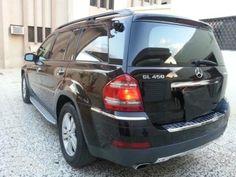 للبيع سيارة مرسيدس 2007 GL450 اسود