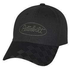 Peterbilt Hats - Peterbilt Caps - Peterbilt Merchandise - Peterbilt  Merchandise - Peterbilt Checkered Bill Caps 8bc00d10ca16