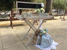 Στολισμοί Γάμου & Βάπτισης Outdoor Tables, Outdoor Decor, Outdoor Furniture, Table Decorations, Home Decor, Decoration Home, Room Decor, Dinner Table Decorations, Interior Decorating