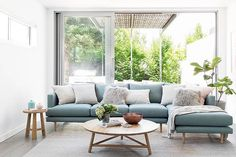 Lounge room inspo. Room Interior Design, Interior Styling, Interior Decorating, Light Blue Couches, Living Rooms, Living Room Decor, Sweet Home, Scandinavian Design, Playroom
