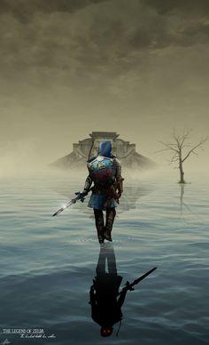 Des artworks pour Zelda par Brady Goldsmith - http://www.jeuxvideo.org/2016/02/des-artworks-pour-zelda-par-brady-goldsmith/