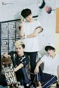 L (Myungsoo), Hoya, and Sungjung - Infinite