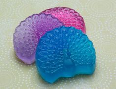 Peacock Soap Favors - Set of 10 - Handmade Glycerin Soap - NEW. $20.00, via Etsy.  http://www.etsy.com/listing/119274928/peacock-soap-favors-set-of-10-handmade?#