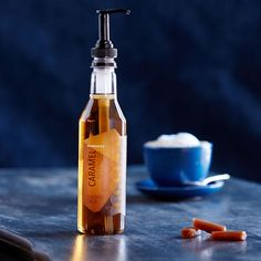 A 12-fl oz bottle of smooth, sweet caramel syrup to flavor your coffee or macchiato at home or the office.