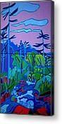 Wildcat River painting Jackson NH by Debra Bretton Robinson. fineartamerica.com/brettonarts