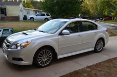 2012 Subaru Legacy GT Pearl White