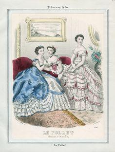 1866 (Feb.) Le Follet / Los Angeles Public Library