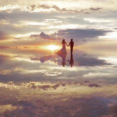 #旅の思い出#ウユニ#ウェディング#絶景#ウユニ塩湖#天国#天空の鏡#ウユニウェディング#wedding#UYUNI#ボリビア#ウユニ湖#ウェディングドレス#ウェディングフォト フォト