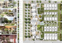 Project drawing from Holloway Builders. Courtesy of Breathe - The New Urban Village project.