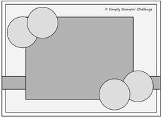 Simply Stampin Sketch  Great for larger images