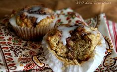 Cinnamon Roll Muffins - Low Carb - OH SO GOOD!!!!!!!!!!