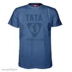 "Koszulka męska ""Tata 1 klasa"""