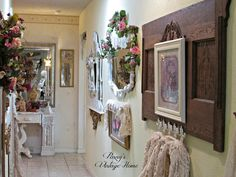 Penny's Vintage Home: Hallway Gallery