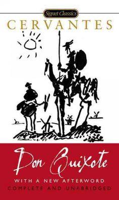 Portada de libro de Don Quijote