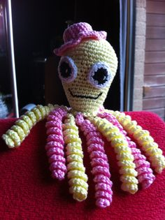 Anneke Crochet Toys, Crochet Baby, Free Crochet, Knit Crochet, Preemie Babies, Premature Baby, Octopus Crochet Pattern, Crochet Patterns, Preemie Octopus