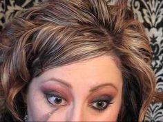 "christina aguilera makeup tutorial - :  mac Painterly Paintpot, mac Deep Damson e/s, mac Coppering e/s, macBlack Tied e/s, mac Brule e/s, mac Shroom e/s, in ""Zero"",Fleshpot Lipstick,Bare Necessity Dazzleglass"