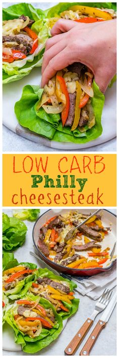 Eat Clean Low Carb Philly Cheesesteaks: Yummy Weight Loss Food - Clean Food Crush