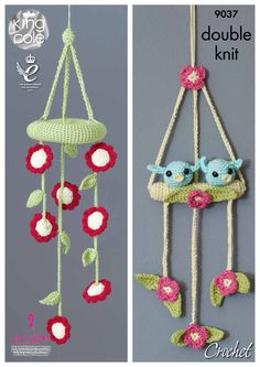 Crochet Baby Mobiles - King Cole