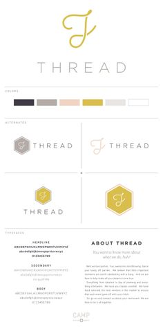 THREAD Events | logo by Camp Design Group