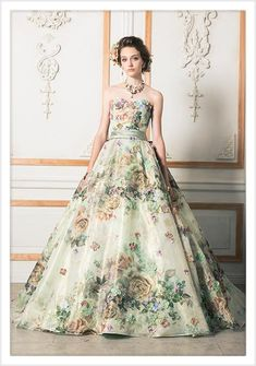 Amazing Print Quinceanera Dress,Off The Shoulder A-Line Long Wedding Dress With Bowknot on Luulla Long Wedding Dresses, Wedding Gowns, Prom Dresses, Formal Dresses, Beautiful Gowns, Beautiful Outfits, Wedding Dress Patterns, Special Dresses, Quinceanera Dresses