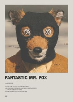 Fox Minimal Movie Poster on Inspirationde - Fantastic Mr. Fox Minimal Movie Poster on Inspirationde - Fantastic Mr. Iconic Movie Posters, Minimal Movie Posters, Minimal Poster, Movie Poster Art, Poster S, Iconic Movies, Poster Prints, Poster Wall, Cinema Posters