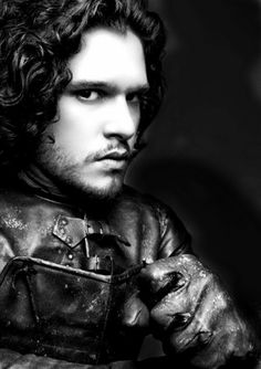 Kit Harington as Jon Snow. Looks like I WILL start watching Game of Thrones, after all :)