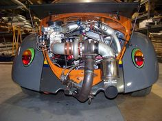 Turbo-Tuning for a vintage Beetle - unbelievable.