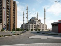 entry 1025AC Tied 2nd Prize- Central Mosque of Prishtina, Kosovo