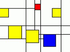 Piet Mondrian Gets the Bikini Treatment. | DG.