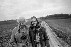 Martine Franck e Henri Cartier-Bresson,1971