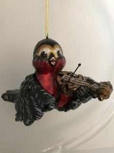 Vögelchen  Violine spielend