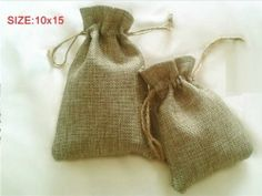 10 x Jute Bags with drawstrings for dried flowers, Lavender, Wedding Favor Bags 10x15cm Gifts http://www.amazon.co.uk/dp/B00K2W9CW8/ref=cm_sw_r_pi_dp_wE4Ltb1TEB823MP6