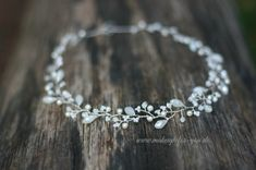 Bridal Wreath Bridal headpiece bridal by elstileaccessories