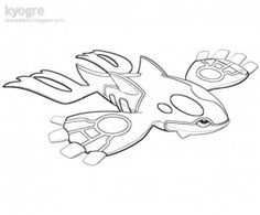 pokemon kyogre coloring pages | Printable Coloring Book, Kyogre Coloring Pages: Kyogre Coloring Pages ...