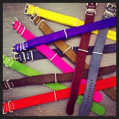 Leather strap for watch!!