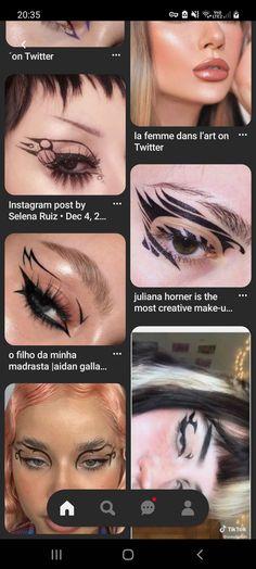 Eye Makeup Art, Eyeliner, Halloween Face Makeup, Make Up, Hair, Eye Liner, Makeup, Beauty Makeup, Eyeliner Pencil