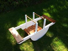 Seesaw Teeter Totter Indoor/Outdoor toy Rocking by LeeZackWoodShop, $150.00