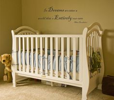 Harry Potter Inspired In dreams we enter a world in a nursery. Love! And it's under $20!