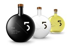 Five Olive Oil by Designers United , via Behance