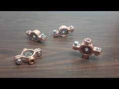 360° Video: DIY $5 Steampunk Fidget Finger Spinner Toy - YouTube