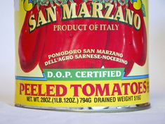 When whipping up a batch of your favorite red sauce, be sure to look for the D.O.P Certification on your sweet San Marzano canned tomatoes to be sure they are the real thing. Another note? Avoid products with additives as that is a big key toward a lesser quality tomato - all you need is tomato and tomato puree/juice, maybe with a dash of basil to boot.