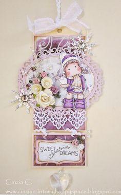 Nel Mio Spazio Felice: # 2 Dolci di Natale Sogni - Carta di DT per Magnolia Marvelous