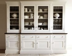 All white kitchens have this classic look that I just never get tired of