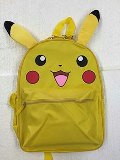 FAB Starpoint Boys Pikachu 12 Inch Backpack with Extension Ears Yellow One Size >>> Details can be found by clicking on the image. Best Kids Backpacks, Travel Style, Pikachu, Ears, Amazon, Yellow, Link, Image, Amazons