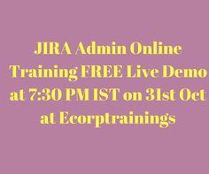 Atlassian Jira Agile Training in Hyderabad, India. Ecorptrainings provides best Atlassian JIRA  online taining by IT 5-10+ yr in  industrial realtime  experts. we are providing erwin Atlassian JIRA  training in USA,UK,Canada,Dubai,Australia.